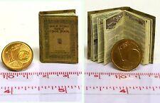 1217# Nostalgie Kochbuch - Gold medal cook book - Puppenhaus-Puppenstube-M1zu12