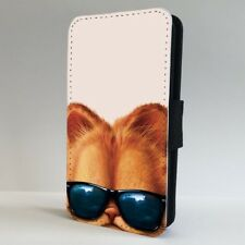 Garfield The Cat Ray Ban Sunglasses FLIP PHONE CASE COVER for IPHONE SAMSUNG