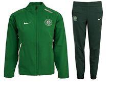 Celtic FC Junior Boys Girls Nike Training Full Zip Tracksuit Kids Top Bottoms