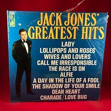 Jack Jones' Greatest Hits - 1968 USA Vinyl LP  EXCELLENT CONDITION best of