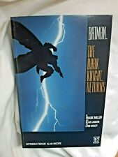 Batman The Dark Knight Returns 1986 Titan Books 244 pages Softcover Frank Miller