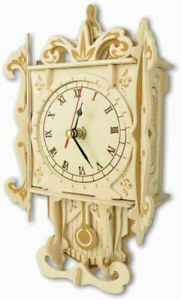 Pendulum Clock     QUAY Woodcraft Construction Kit FSC
