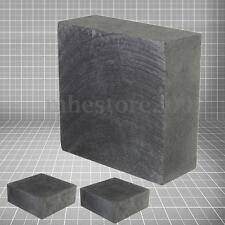 High Purity 99.9% Graphite Ingot Block 50mm x 50mm x 20mm for Smooth Surface