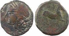 Carthage , grand bronze au cheval, 300 264 av JC - 11