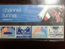 (13) - UK Mint Stamps in Presentation Pack - Channel Tunnel
