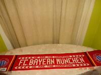 "FC Bayern München Fan Schal ""WE ARE THE CHAMPIONS FC BAYERN MÜNCHEN"""