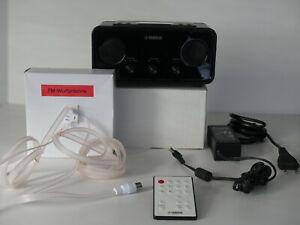 Yamaha Uhrenradio TSX-70 mit iPod Dock - inkl. Fernbedienung und FM-Wurfantenne