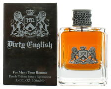Dirty English by Juicy Couture for Men EDT Cologne Spray 3.4 oz. New in Box