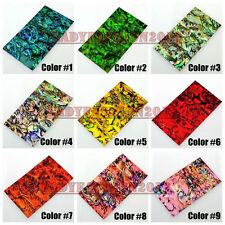 New Beauty Leopard Foil Wrap Sheet Nail Art Sticker Decorations Cell Phone Tips