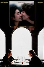 John Lennon Yoko Ono Milk and Honey Vintage Original Album Promo Poster 1984