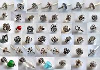 925 ECHT SILBER *** Wählen Sie 2 Armband Module / Beads
