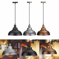 Vintage Pendant Light Ratro Lamp Industrial Ceiling Lighting Hanging Home