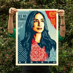 Shepard Fairey Rebirth Poster Print Signed and Numbered 450 - Obey Giant