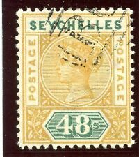 Used Single Seychellois Stamps (Pre-1976)
