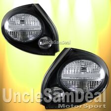 02-03 FOR NISSAN MAXIMA CLEAR LENS BLACK HOUSING TAIL LIGHTS DIRECT FIT PAIR