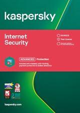 Kaspersky Internet Security 2021 (UK/EU) Lot Kaspersky Authorised UK VAT