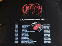 Obituary Shirt Tour 1991 Death Metal Monstrosity Broken Hope XXL
