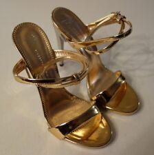 *BNIB* GIUSEPPE ZANOTTI - Strappy 120 Rose Gold Leather Sandals - 37