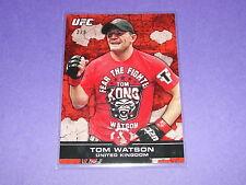 2013 Topps UFC Bloodlines TOM WATSON #107 Red Variant/8 United Kingdom - KONG