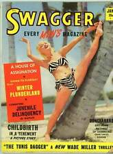 Swagger Magazine # 1 1951 Every Man's Magazine Juvenile Delinquency Tenement