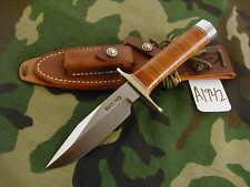 "Randall Knife Knives #15-5 1/2"" Cdt,Bdh,Rwbs,Leather,Db #A1942"