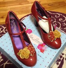 Anthropologie Poetic License Rel Floral Mary Janes 7 NWB