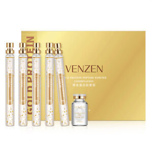 VENZEN Gold Protein Peptide Essence Combination Skin Improve Moisturizing 5x15ml