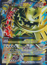 Pokemon Steam Siege Mega-Steelix-EX 109/114  Full Art Ultra Rare Card