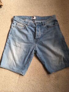 NN07 Denim Shorts W32 Oi Polloi