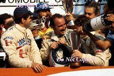 SCHECKTER & VILLENEUVE FERRARI F1 ritratto italiano GRAND PRIX 1979 Fotografia