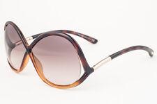 Tom Ford Ivanna Dark Havana / Brown Gradient Sunglasses TF372 52F