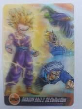 Carte Dragon Ball Z DBZ Morinaga Wafer Card Part 4 #252 3D MADE IN JAPAN