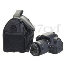 Nylon Camera Shoulder Bag Case Handbag For Nikon Canon SLR DSLR Waterproof Small