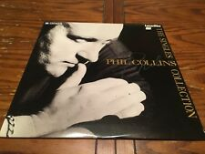 Phil Collins Laser Disc - The Singles Collection 1990 PIONEER DIGITAL SOUND RARE