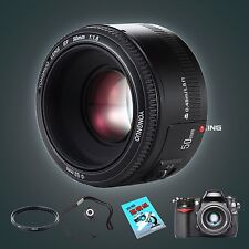 YONGNUO YN 50MM F/1.8 Large Aperture Auto Focus Lens With 3 Gifts For Canon UK