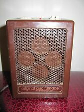 Vintage 1989 PELONIS Disc Furnace Original Space Heater 1500 Watts