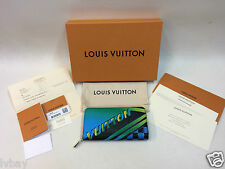New With Receipt Louis Vuitton Zippy Epi Race Wallet M62268 Limited Edition Rare