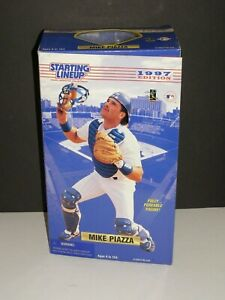 "1997 EDITION STARTING LINEUP MIKE PIAZZA 12"" FULLY POSEABLE"