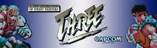 "Street Fighter Three Arcade Marquee 26"" x 8"""