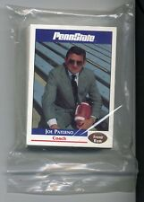 1992 Penn State Legends All American Set Front Row Paterno Sealed Set - 50 cards