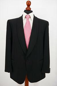 Wilvorst Smoking Anzug Gr.54 100% Schurwolle White Label absoluter Top Zustand