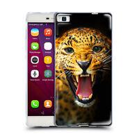 Custodia Cover Anukku® Design Leopardo Per Cellulari Huawei Vari Modelli
