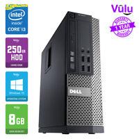 DELL OPTIPLEX 7010 DESKTOP WORK PC - i3 3.40GHz | 250GB HDD | 8GB RAM | WIN 10