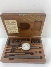 Vintage 1945 Lufkin Tool Universal Dial Test Setusa 299a399a