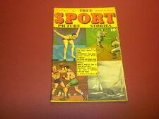 TRUE SPORT PICTURE STORIES Volume 3 #9 Street & Smith 1946