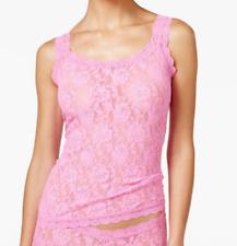 Hanky Panky Women's Pink Lace Tank Top Sz S 4210