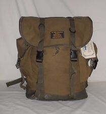 K. Hansotia & Co. Family Tobacco Traders E India Large Military Style Backpack