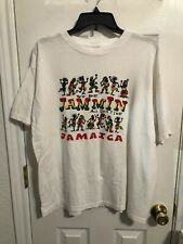 """New listing vintage jamaica t shirt reggae T's """"we be jammin all deh time"""" mens size XXL EUC"""