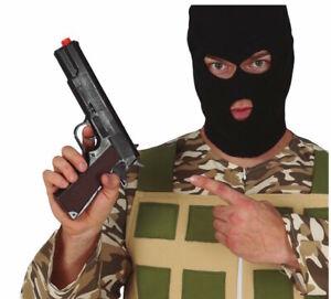 Toy Gun Plastic Handgun Detective Secret Agent Fancy Dress Pistol Halloween COLT