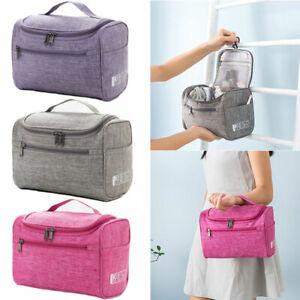 Women Cosmetic Bag Make Up Case Travel Toiletry Wash Organiser Vanity Nail Box